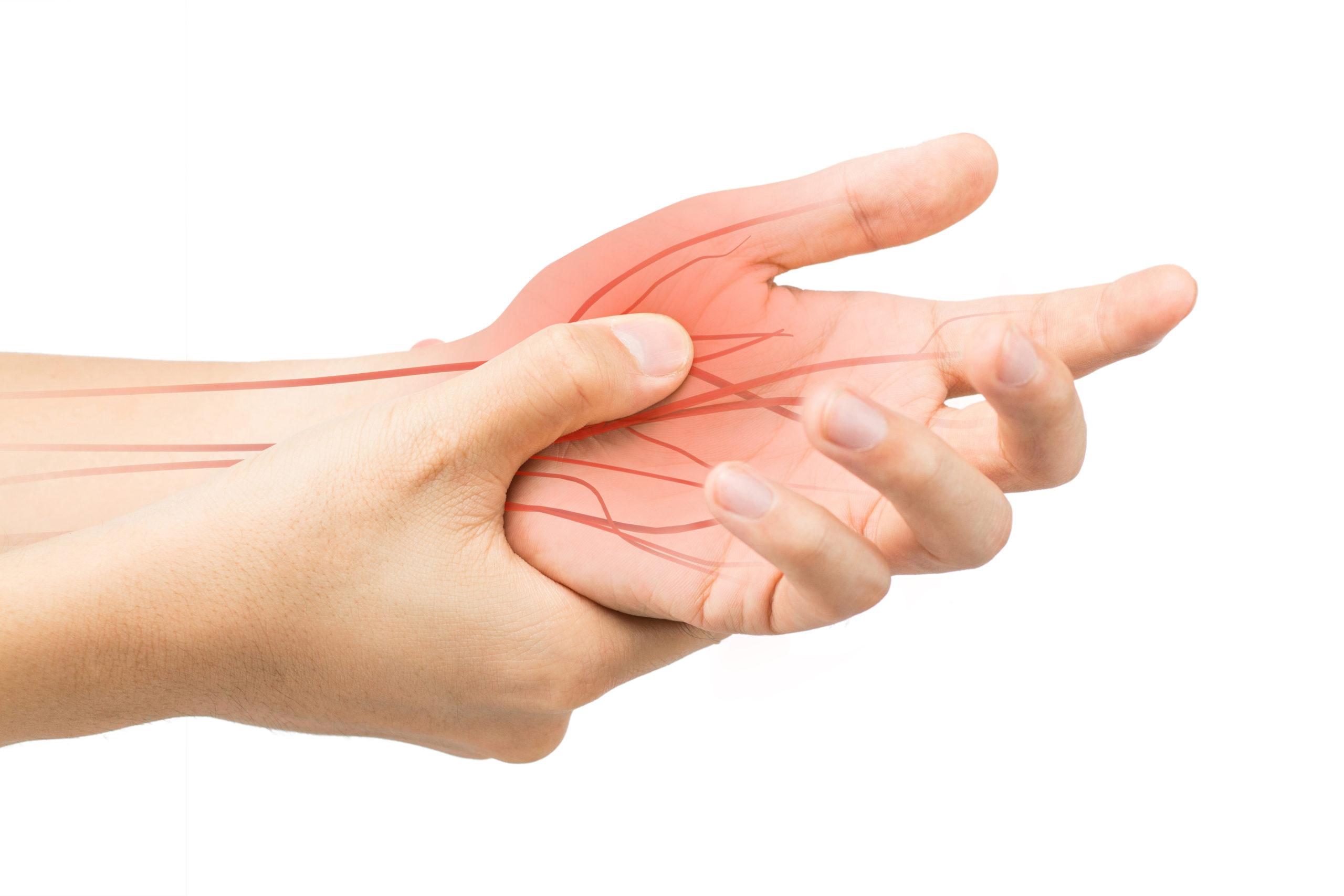 Nerve or neural mobilisation in the hand
