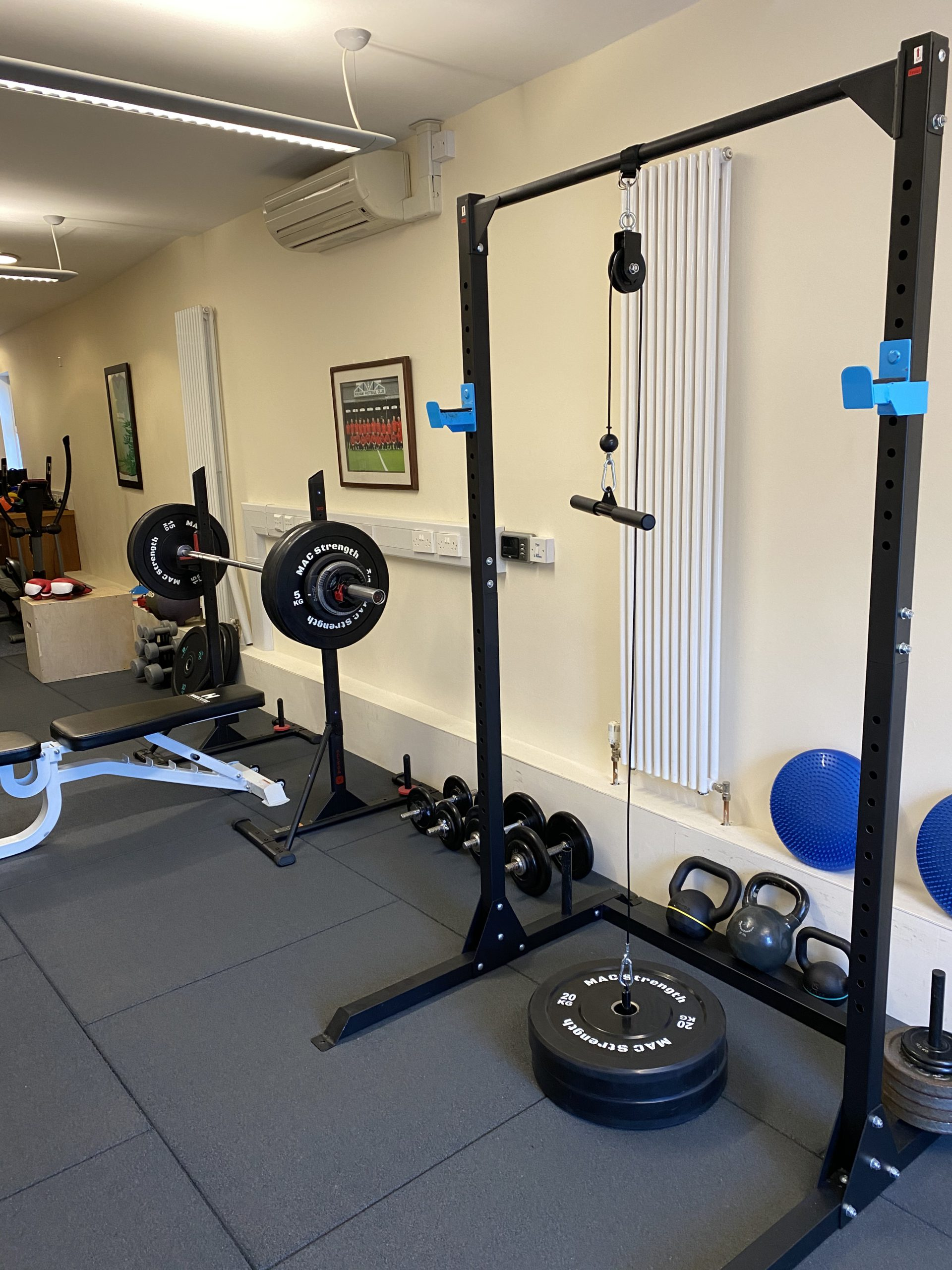Gym loose weights area