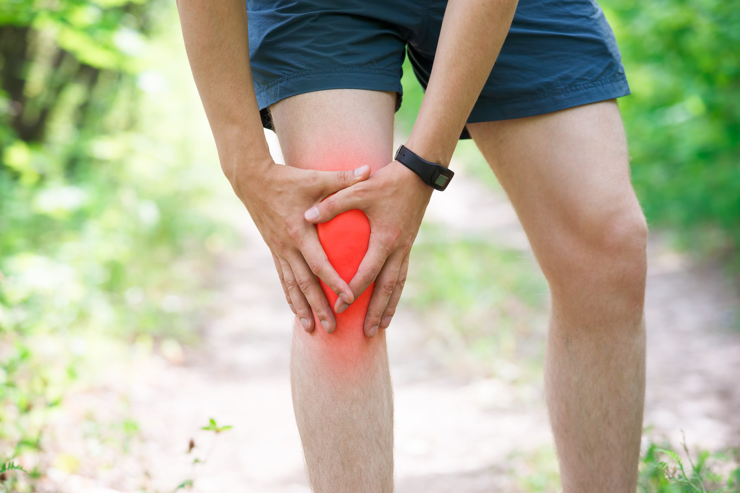 Knee injury and joint pain