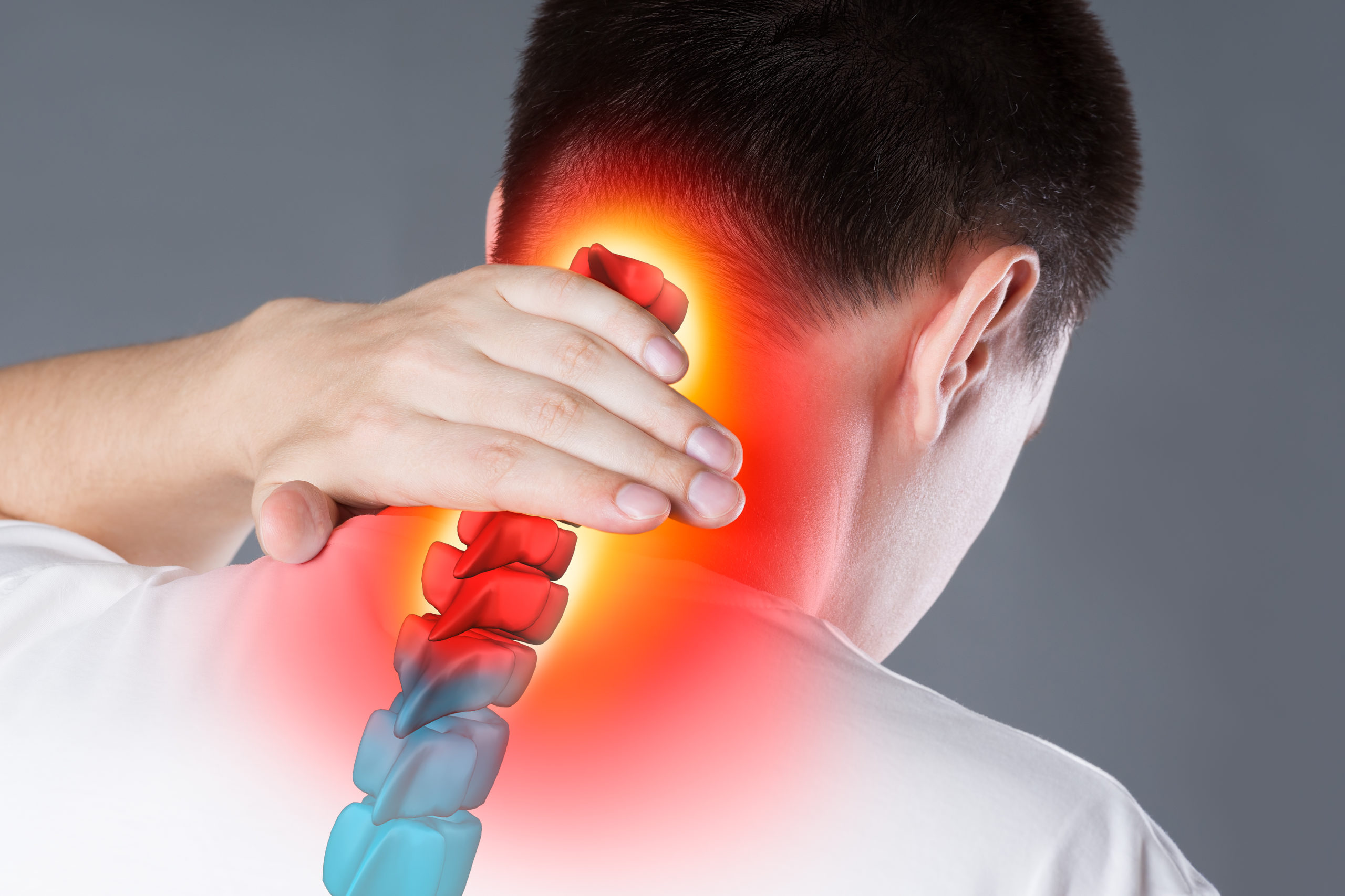 Whiplash causing neck and back pain
